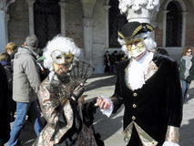 Carnival, Venezia, costumes and masks 24 Royalty Free Stock Images