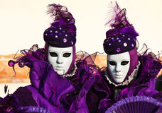 Carnival in venice Stock Images
