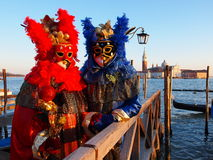 Carnival in Venice. An unidentified people in a carnival costume attend the end Carnival of Venice,  February 21, 2012 in Venice, Italy Royalty Free Stock Photo