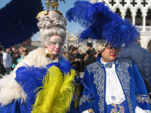 Carnival in Venice Stock Photography