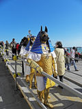 Carnival in Venice,3,costumes and masks Royalty Free Stock Photography