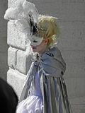 Carnival in Venice,17,costumes and masks Stock Image