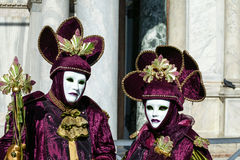 Carnival of Venice, Italy Stock Image
