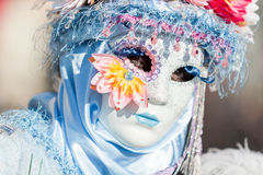 Carnival of Venice masks. VENICE, ITALY - FEBRUARY 27, 2014. Unidentified person in Carnival mask in Venice, Italy on February 2014 Stock Photography