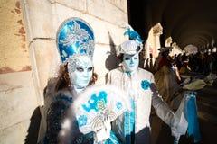 Carnival of Venice masks Stock Photos