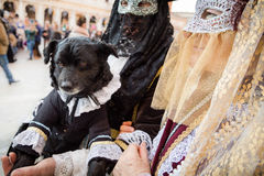 Carnival of Venice masks Stock Image