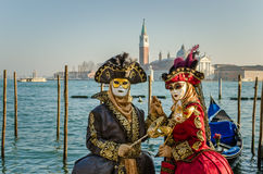 Carnival of Venice stock image
