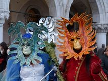 Carnival of venice Royalty Free Stock Images
