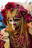 Carnival of Venice, Venetian Mask Royalty Free Stock Photos