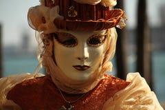 Carnival of Venice - Venetian Masquerade Royalty Free Stock Photos