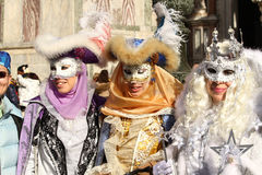 Carnival of Venice - Venetian Masquerade stock image
