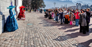 Carnival Venitien d' Annecy 2012 Royalty Free Stock Images