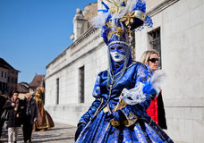 Carnival Venitien d' Annecy 2012 Stock Photo