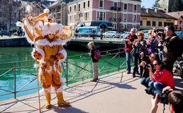 Carnival Venitien d' Annecy 2012 Royalty Free Stock Image