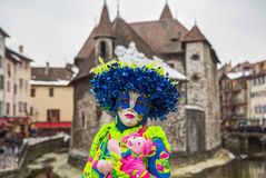 Carnival Venitien d' Annecy 2013 Stock Photography