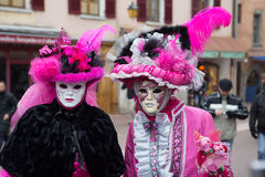 Carnival Venitien d' Annecy 2013 Royalty Free Stock Photos
