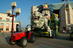 Carnival of Viareggio 2011, Italy Royalty Free Stock Photo