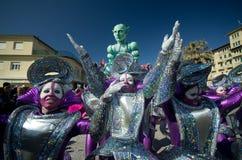 Carnival of Viareggio 2011, Italy Stock Photography