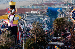 Carnival of Viareggio 2011, Italy Stock Photos