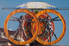 Carnival of Viareggio 2011, Italy Stock Photo