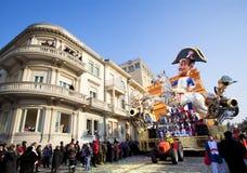 Carnival of Viareggio Stock Images