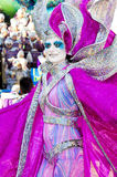 Carnival of Viareggio Royalty Free Stock Photo