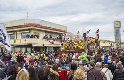 Carnival of Viareggio Royalty Free Stock Photography