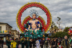 Carnival of Viareggio Stock Photo