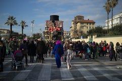 Carnival,Viareggio,Italy,europe Royalty Free Stock Photos