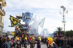 Carnival,Viareggio,Italy,europe Royalty Free Stock Images