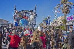 Carnival of Viareggio Royalty Free Stock Images