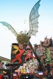 The Carnival of Viareggio Royalty Free Stock Image