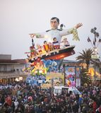 Carnival of Viareggio Royalty Free Stock Photo
