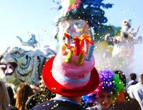 Carnival. Viareggios carnival (tuscany Italy Stock Photos