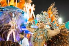 Carnival 2016 - Vila Isabel Stock Photo
