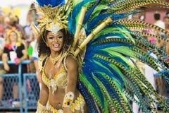 Carnival 2016 - Vila Isabel Royalty Free Stock Photos