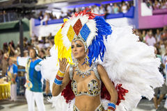 Carnival 2016 - Vila Isabel Stock Images