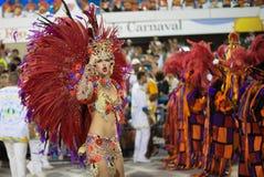 Carnival 2016 - Vila Isabel Royalty Free Stock Image