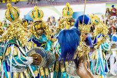 Carnival 2016 - Vila Isabel Stock Photos