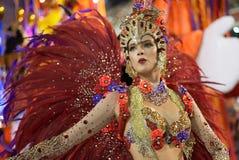 Carnival 2016 - Vila Isabel Royalty Free Stock Photo