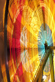 Carnival wheel in motion Stock Image