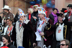 Carnival in Wiesbaden Stock Photography