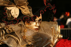 Carnevale Masquerade Stock Photos