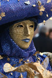 Carnevale Masquerade. A Carnevale Masquerade costume from Carnevale 2009 in Venice, Italy Royalty Free Stock Image