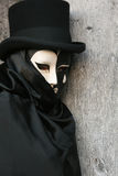 Carnevale Masquerade. A Carnevale Masquerade costume from Carnevale 2009 in Venice, Italy Stock Photos