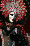 Carnevale Masquerade. A Carnevale Masquerade costume from Carnevale 2009 in Venice, Italy Stock Images