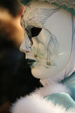 Carnevale Masquerade Close Up. A Profile of a Carnevale Masquerade costume from Carnevale 2009 in Venice, Italy with a Pegasus Royalty Free Stock Images