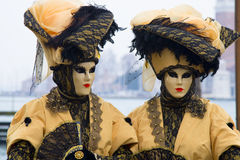 Carnivale Venice. Mask of Venice, the party of the year Royalty Free Stock Photos