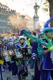 carnivalsband royaltyfria bilder