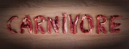 Carnivore dieta, zero carb, zdrowy jedzenie obraz stock